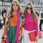 Paris Fashion Week…second day. Fucsia.