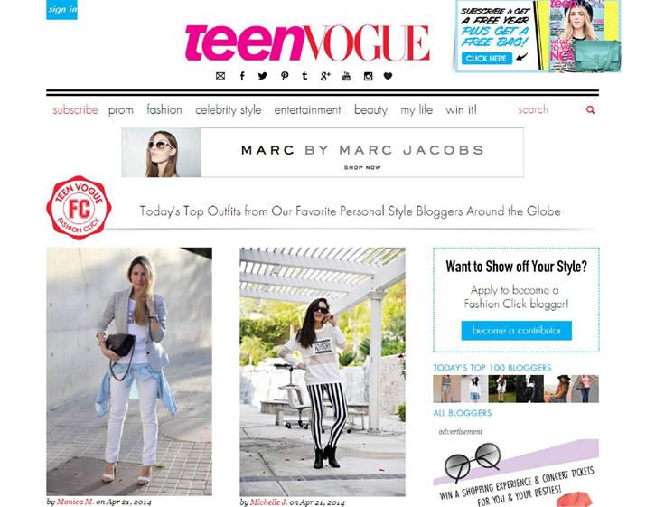 Teen Vogue 21 abril