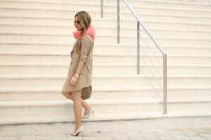 Aztec skirt, Mónica Sors, Mes Voyages à Paris, Fashion blog, low cost look idea