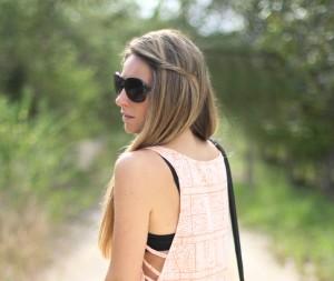 Cut off dress Mónica Sors, Mes Voyages à Paris Fashion Blog, fashion blogger