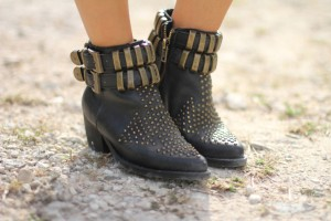 Jeffrey Campbell distressed boots