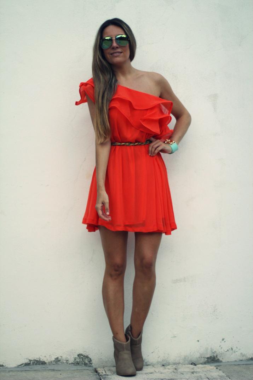 Orange dress (2)