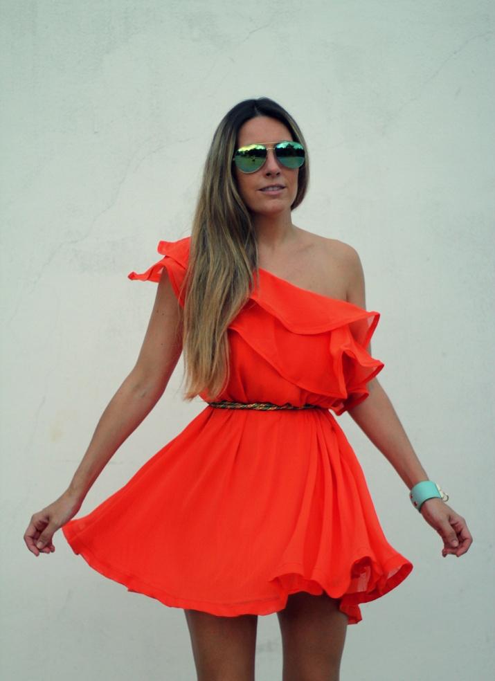 Orange dress (3)