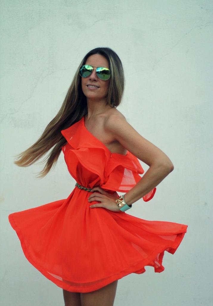 Orange dress (4)