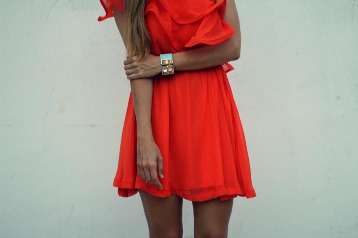 Orange dress (5)