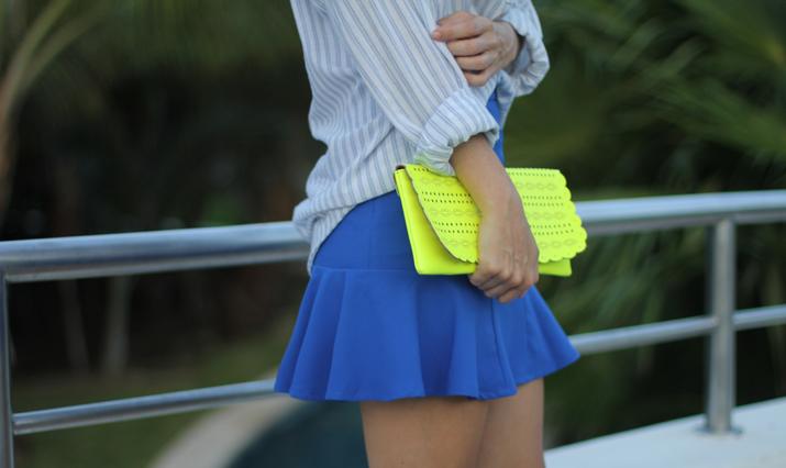 Cobalt skirt (2)