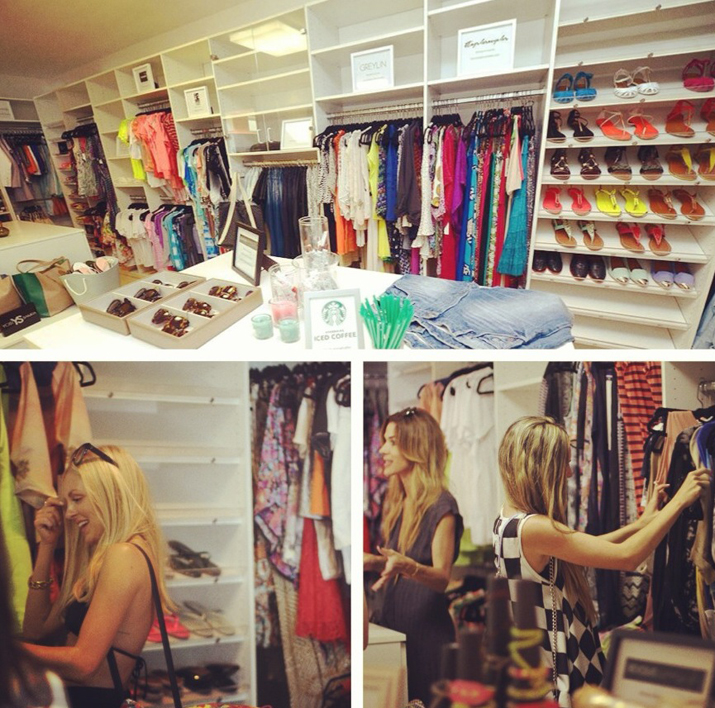Revolve Clothing closet