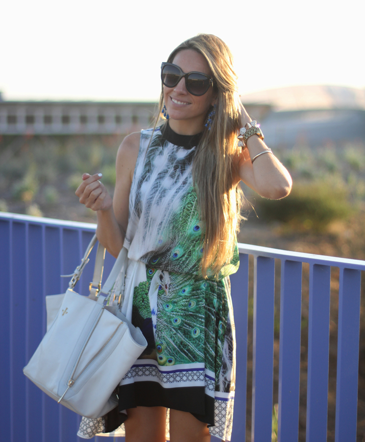 Maxi earrings by fashion blogger Monica Sors