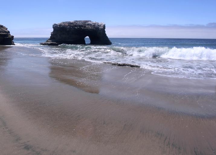 Natural bridges state beach Santa Cruz California blog
