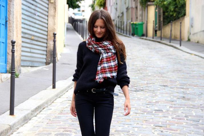 Tartan Zara scarf