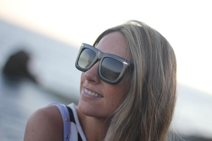 Zero UV fashion sunglasses blogger
