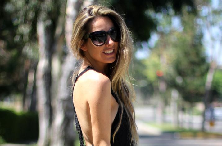 california girl look blogger