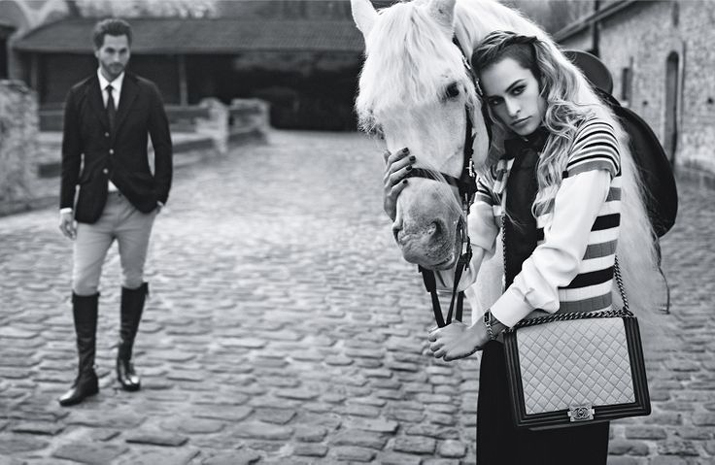 Boy Chanel Alice Dellal
