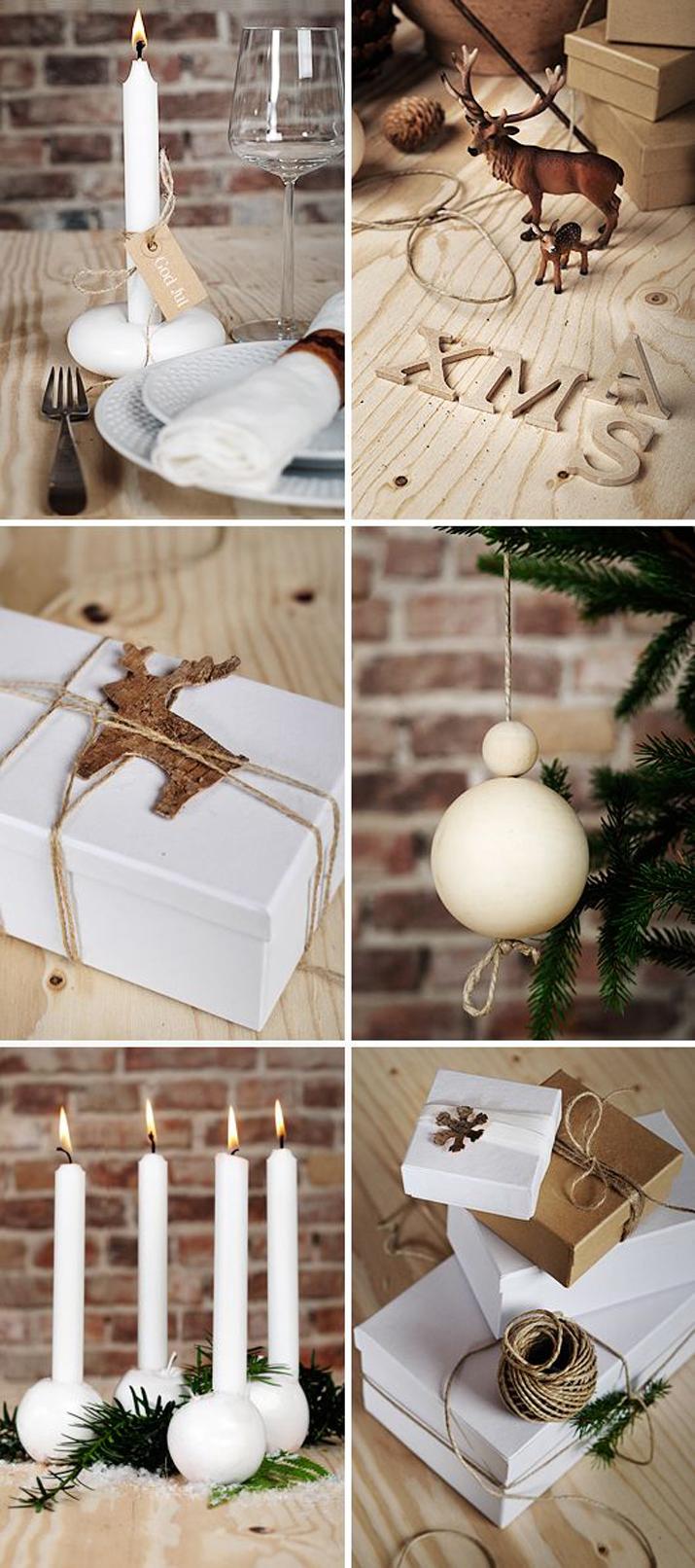 white christmas decoration blog