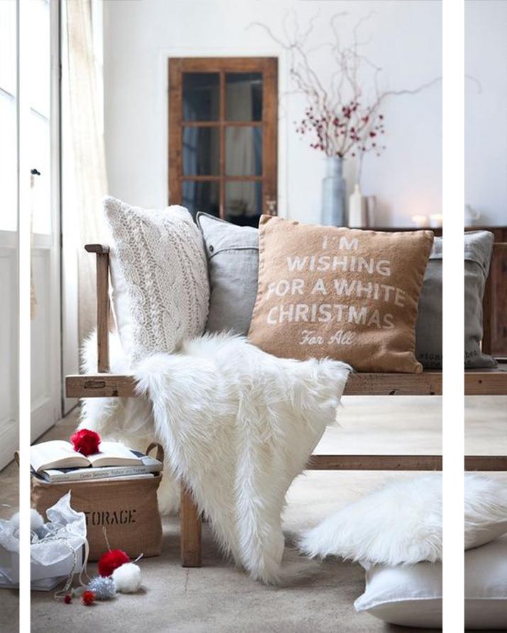 white christmas deco 2013