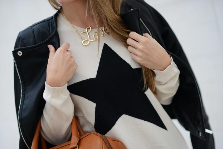 Love necklace fashion blogger