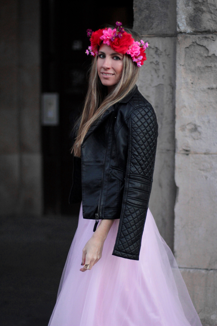 Mes Voyages a Paris tulle dress