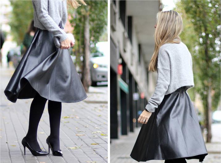 Midi skirt blogger (15)