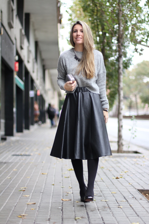 Midi skirt blogger (20)