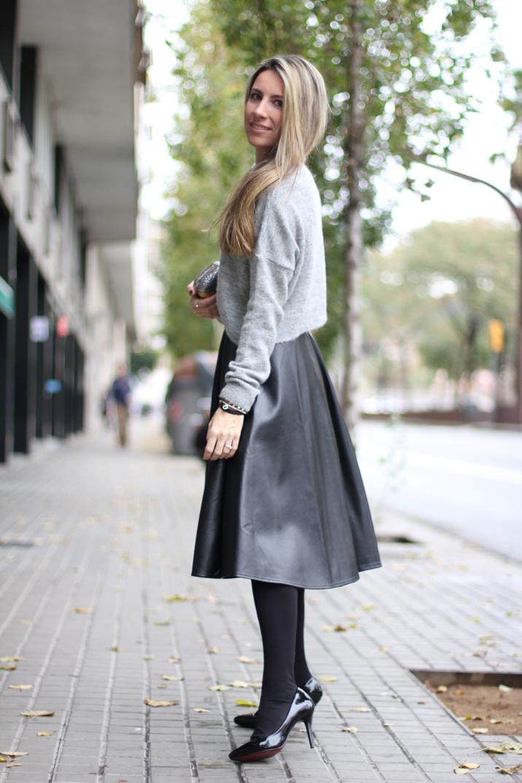Midi skirt blogger (9)