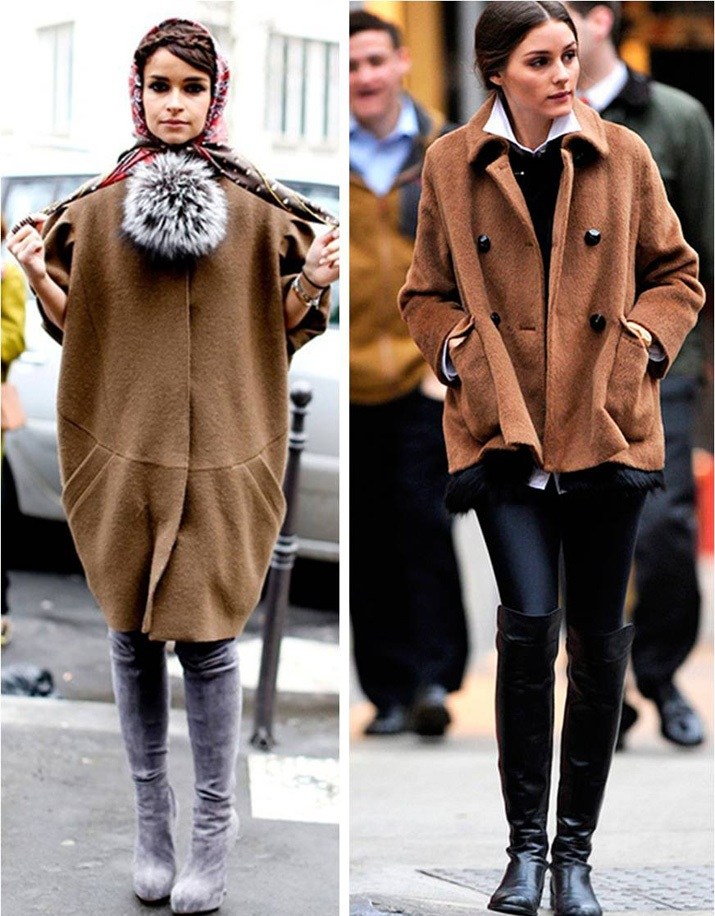 High boots inspiration winter 2013 Miroslava Duma Olivia Palermo