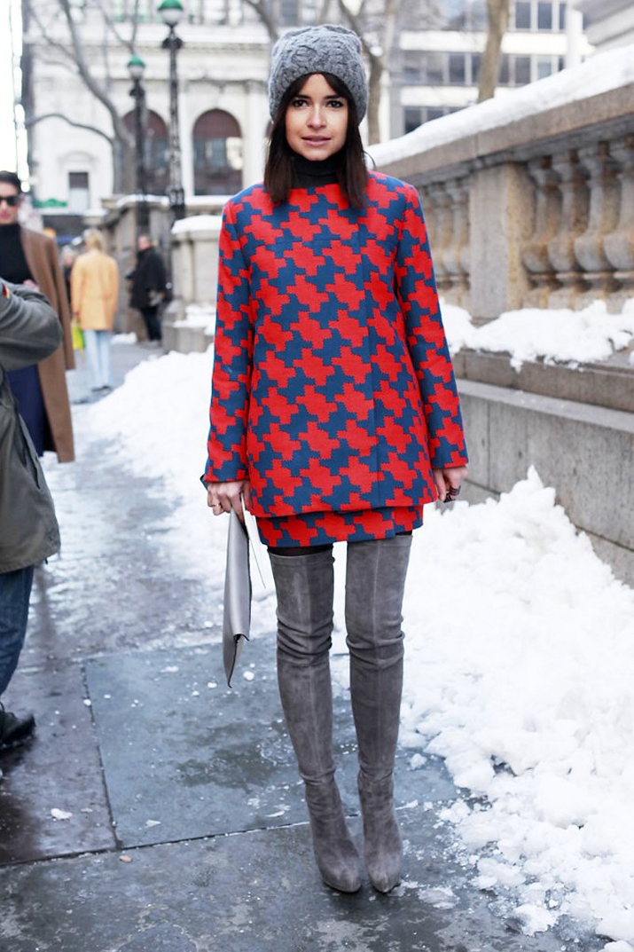 High boots inspiration winter 2013 Miroslava Duma
