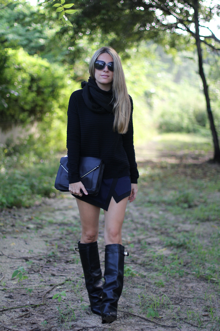 No tights winter outfit (2)