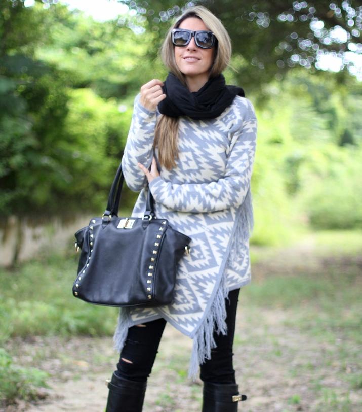 Ripped jeans Stradivarius blogger