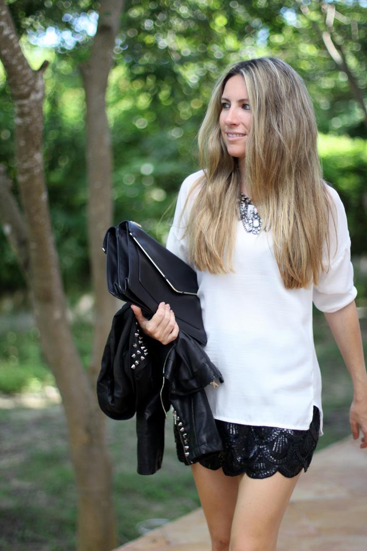 Sequins skirt (1)