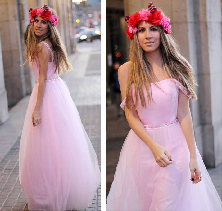 Tulle dress blogger