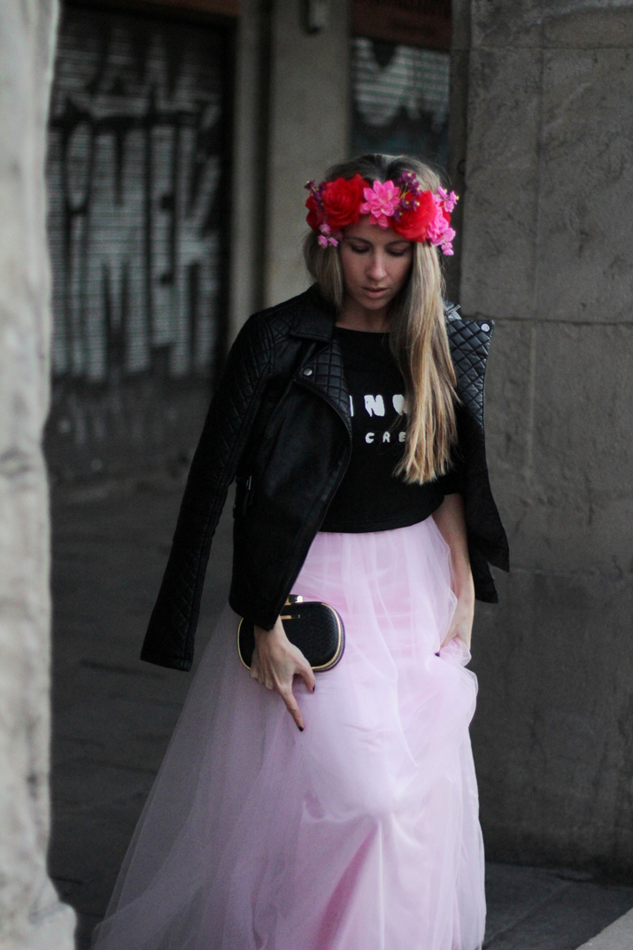 Tulle dress fashion blogger