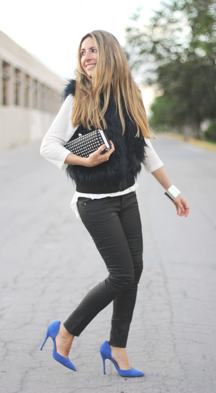 Trendy look blogger Monica Sors