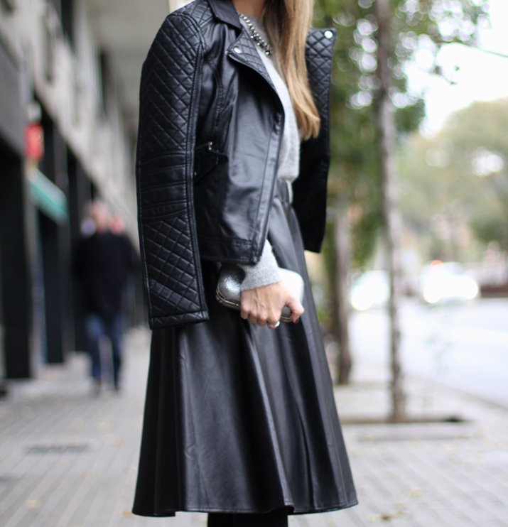 fashion blogger barcelona midi skirt (1)