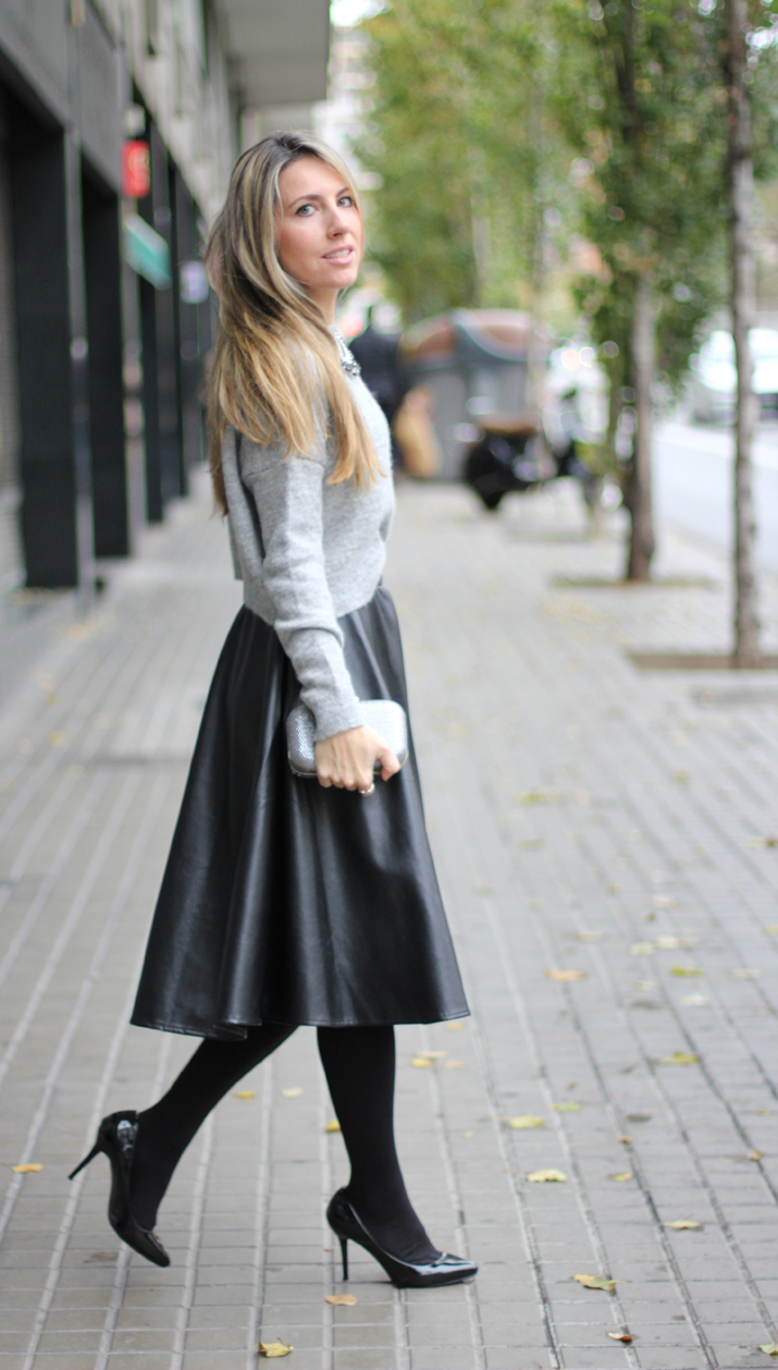 fashion blogger barcelona midi skirt (2)