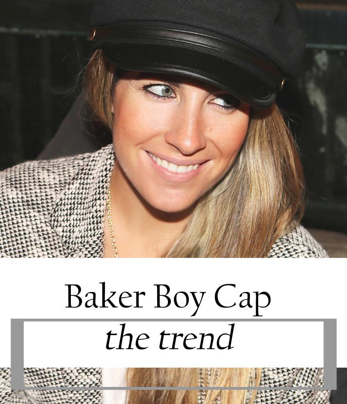 Baker Boy Cap Fashion blogger Monica Sors