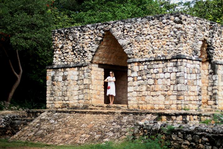 Ruinas mayas Ek Balam Yucatan