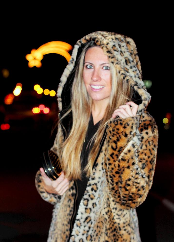Monica Sors fur coat