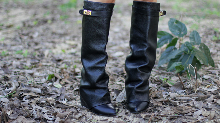 Givenchy style boots