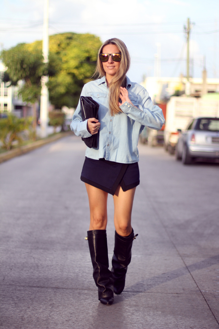 HIGH_BOOTS-SKORT-DENIM_SHIRT-FASHION-BLOGGER-MONICA_SORS-MESVOYAGESAPARIS-BLOG (8)