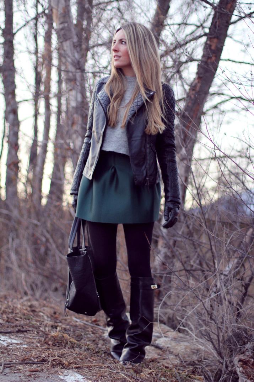 Leather jacket blogger (2)