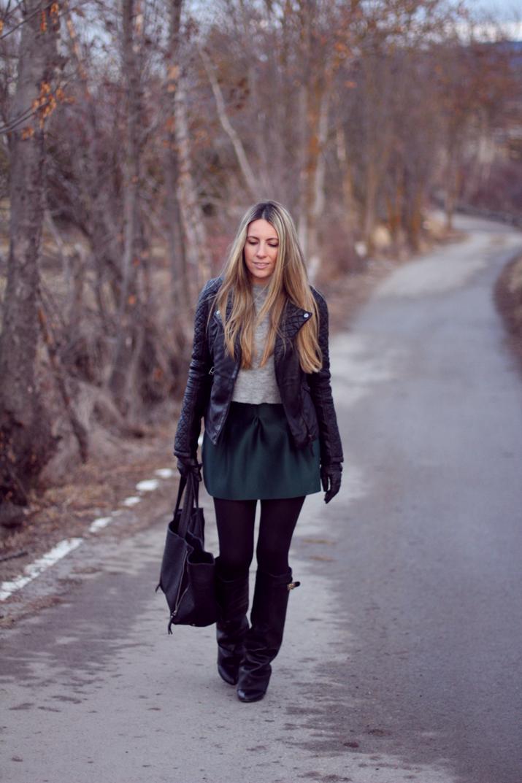 Leather jacket blogger (3)