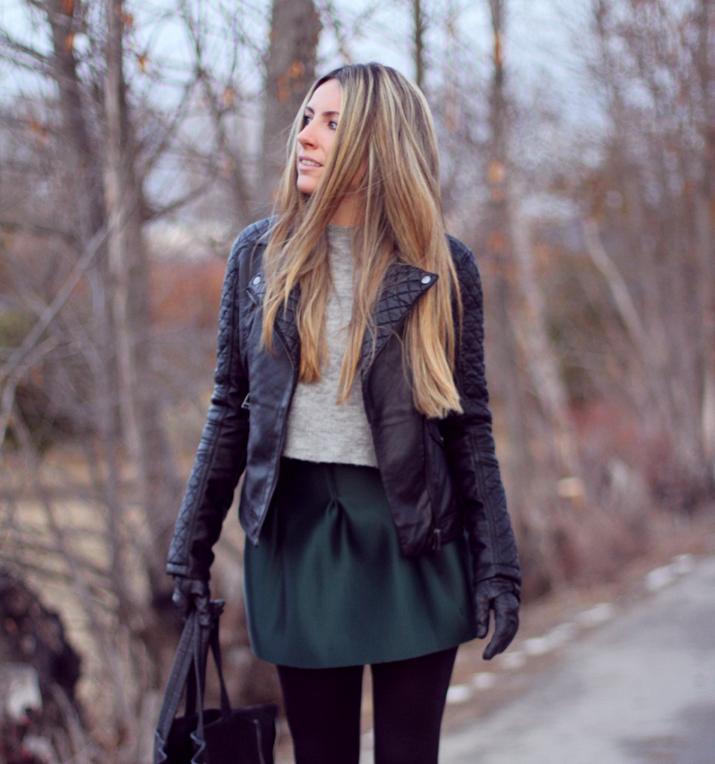 Leather jacket blogger (4)