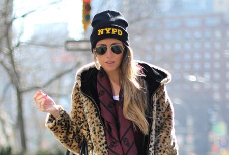Leopard coat blogger (2)