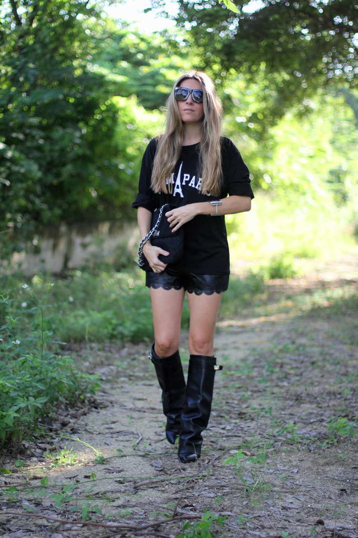 Mexico fashion blogger Monica Sors