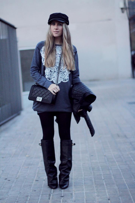 Boy_Chanel-bag-Sweat_dress-Baker_boy_cap-fashion_blogger(261)