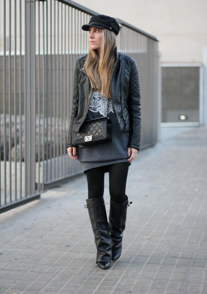 Boy_Chanel-bag-Sweat_dress-Baker_boy_cap-fashion_blogger(32)