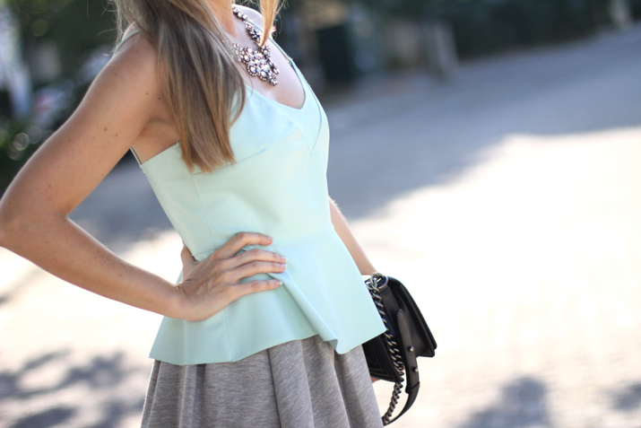 Boy_Chanel-sweat_skirt_Bershka-leather_peplum_top-Mesvoyagesaparis_blog (12)