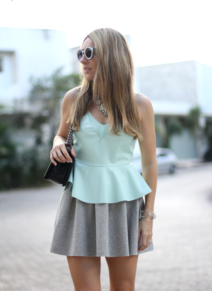 Boy_Chanel-sweat_skirt_Bershka-leather_peplum_top-Mesvoyagesaparis_blog (6)