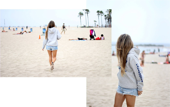 venice beach monica sors blogger