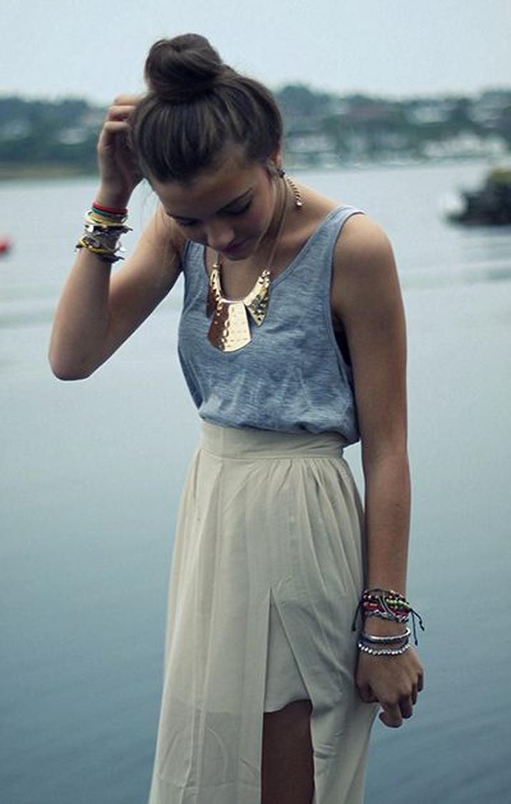 look con moño blog de moda